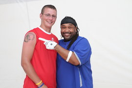 This is Carter Beauford, the drummer for the Dave Matthews Band and me