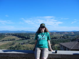 This photo was taken over the summer of 2012, when I took a trip to Italy. Absolutely beautiful countryside.