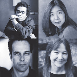 Thomas Sayers Ellis, Lan Samantha Chang, Philip Gourevitch, Anne Fadiman