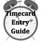 Timecard Entry Guide