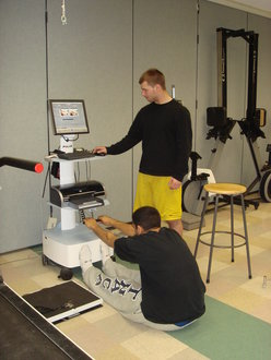 TriFIT system is installed in the Motor Behavior & Fitness Lab for Physical Activity and Physical Fitness teaching and evaluation.