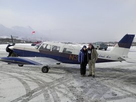 VTLP participants travel to remote Alaskan villages via small aircraft.