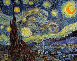 Vincent van Gogh, The Starry Night, 1889 (Museum of Modern Art, New York)