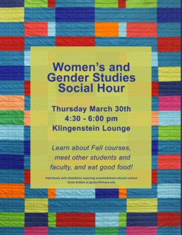 WGST Social Hour Spring 2017