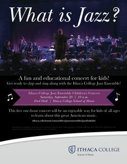 WHAT IS JAZZ? Concert for Children and Families 2014