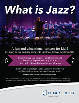 WHAT IS JAZZ? Concert for Children and Families 2015