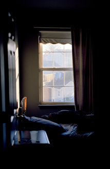 "Welcome to my bedroom! A shot from my most recent photo project ""I've traveled; most have."""