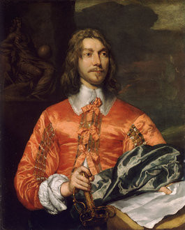 William Dobson, Portrait of a Royalist, c. 1643 (National Maritime Museum, Greenwich)