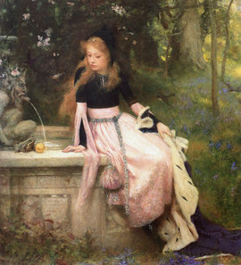"William Robert Symonds, ""The Princess and the Frog"""