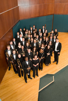 Wind Ensemble Group Picture