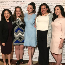 Winners of the NYWICI scholarships