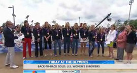 Women's crew on the Today show