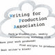 Writing for Production Association