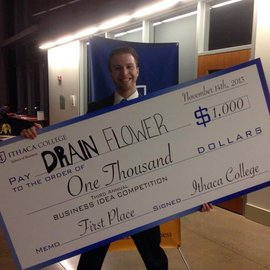 Zach Briggs, �15, wins IC Business Idea Competition