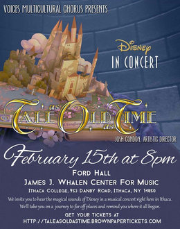 Ithaca College will host �Disney in Concert: Tale as Old as Time,� Feb. 15.