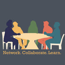 network, collaborate, learn