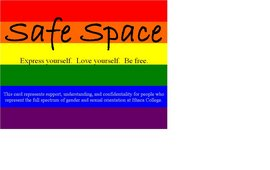 safe space card