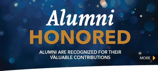 Honoring Alumni