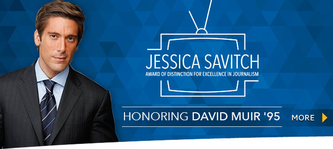 Savitch Award - David Muir