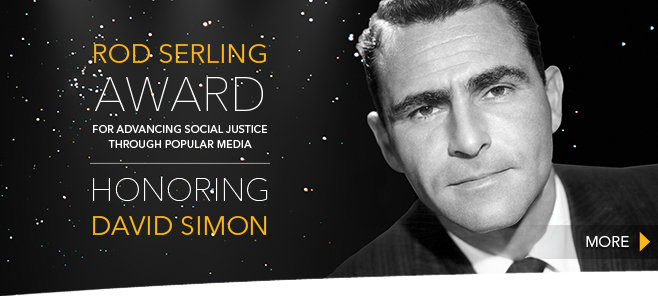 Serling Award - David Simon