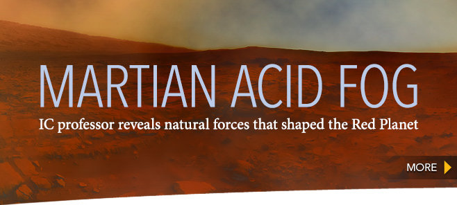 Martian Acid Fog