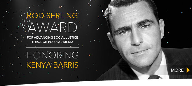 Rod Serling Award - Kenya Barris