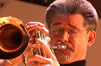 IC's Frank Campos on trumpet